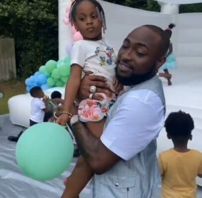 Davido shares hilarious chat he had with his 2nd daughter, Hailey Adeleke