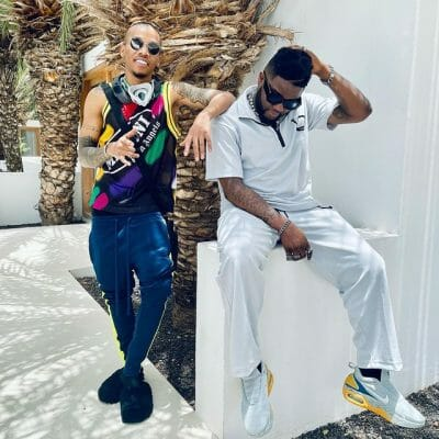 Hit alert? Skales, Tekno, and Kcee pose in new photo