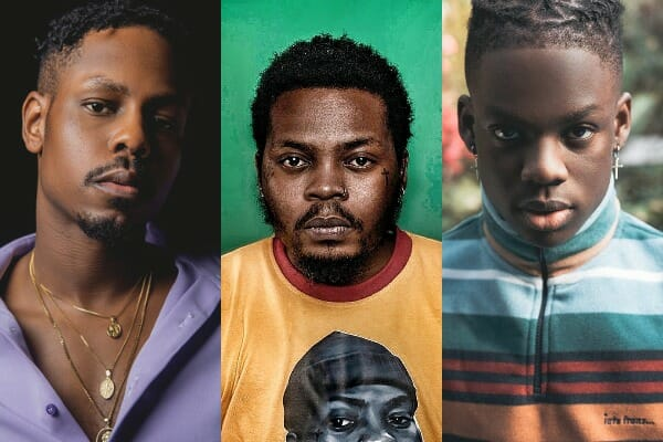 Ladipoe, Olamide, Rema among the top Nigerian music videos dominating TV airplay