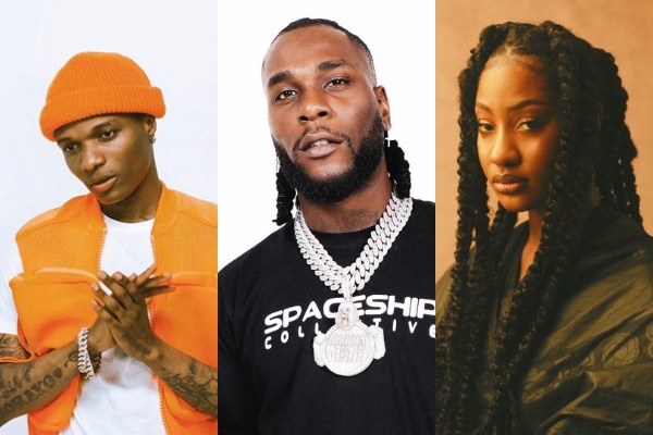 Nigerian artists with the most Spotify monthly listeners at the moment