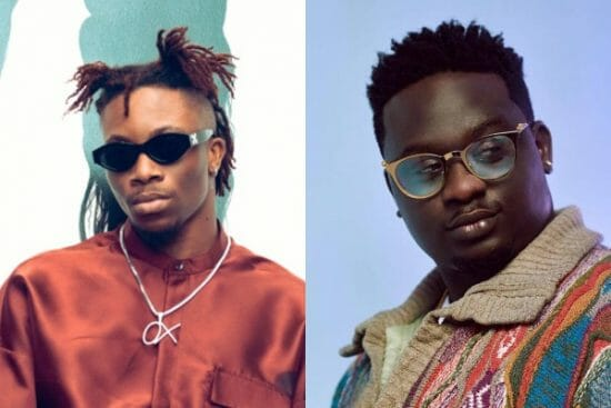 Oxlade shares how Wande Coal inspired his music career
