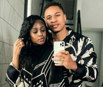 Rotimi acquires his first car, gifts a 2021 Range Rover to his fiancée, Vanessa Mdee
