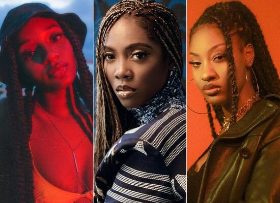 Tems, Ayra Starr, Others make the List of Female Artistes Crush Wednesday