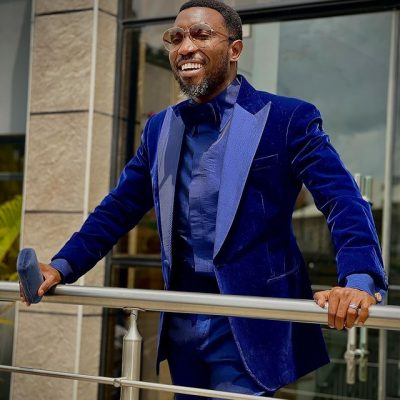 Tobi Bakre gets singer, Timi Dakolo to surprise his wife, Anu watch here!