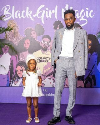 """Watch Patoranking's daughter perform her dad's song, """"Celebrate Me"""""""