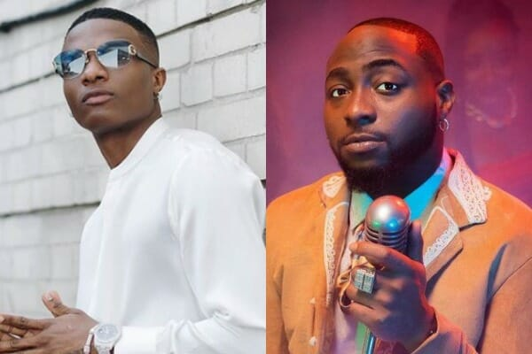 Wizkid, Davido and others among Nigeria's Top-Selling Digital Artists at the Moment
