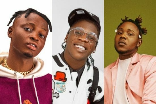 10 Fast-Rising Nigerian artists that have successfully labelled their names on street charts