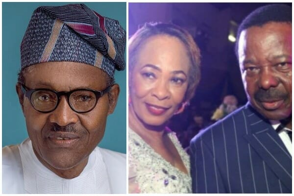 Buhari Pays Tribute to King Sunny Ade's late Wife, Risikat