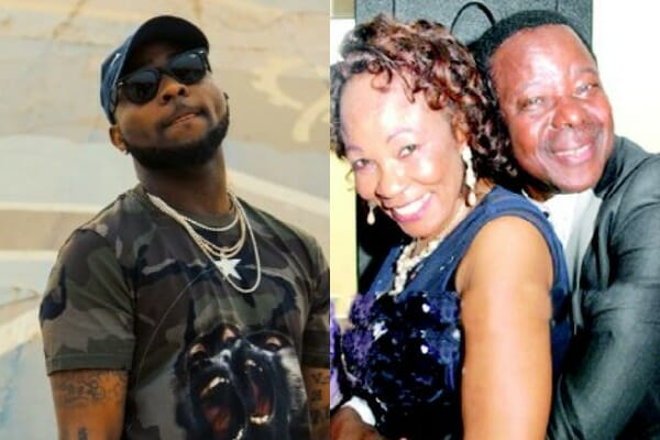 Davido Shares a Video of King Sunny Ade and His Late Wife.