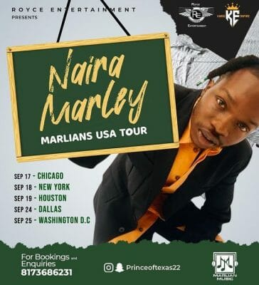 Naira Marley unveils his Marlians American tour