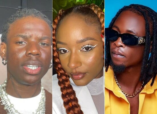 Nigerian artists whose names are their first project