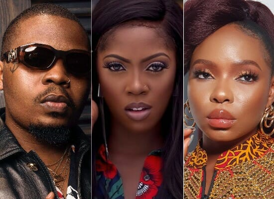 Nigerian artists whose real names are also their stage names