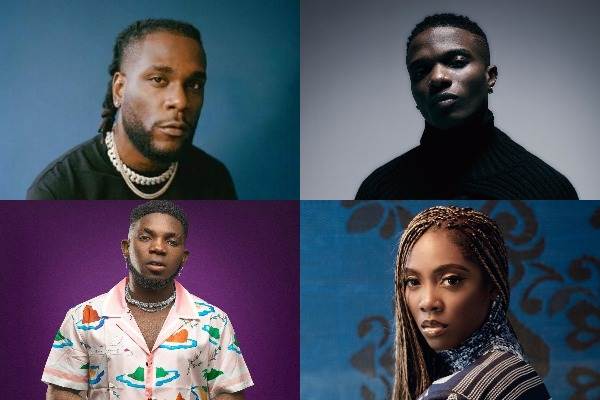 Nigerian music videos that are now trending on YouTube's music chart