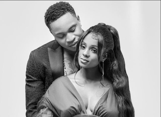 Rotimi And Vanessa Mdee Welcome their first son