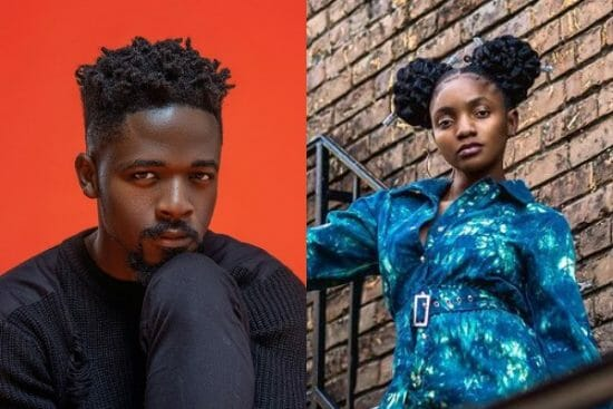 Simi reacts as Johnny Drille brags about being a music 'Jack of all trades'