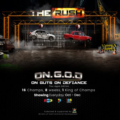 The Rush by Pop Central, a high energy reality TV show is coming soon