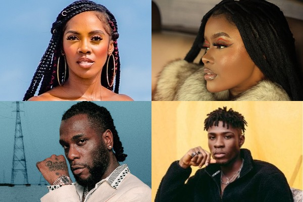 Tiwa Savage, Burna Boy, Ayra Starr, and more are among the 6 best Nigerian songs of the month