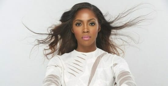 Tiwa Savage shares the struggle she faced on a trip to a waterfall