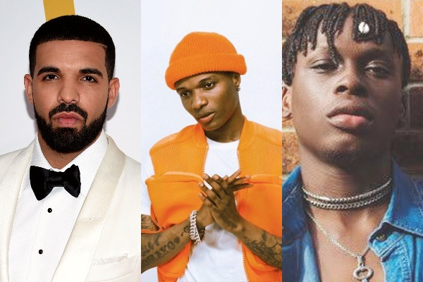 Top 10 most played songs on Nigeria Apple music chart today