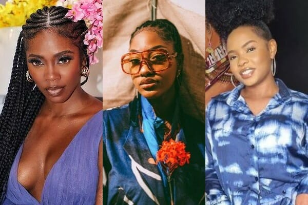 Top 5 African female most streamed afrobeats artistes on Spotify