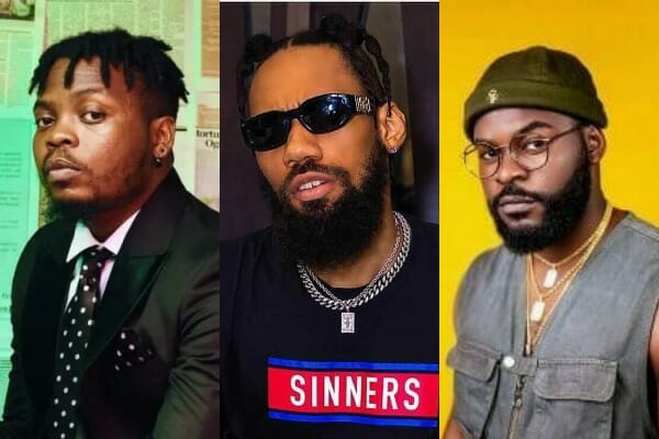 Top 5 Nigerian musician who are best friends