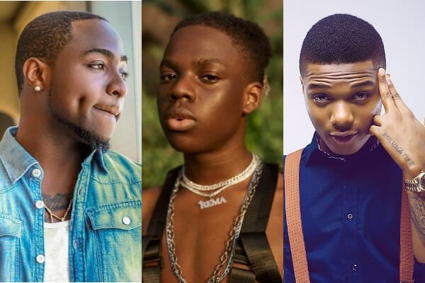 Top trending Nigerian artistes that blew before their 20's