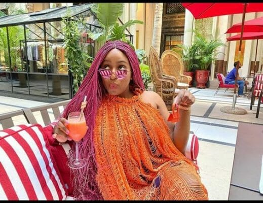 DJ Cuppy reveals one of the benefit of being from a rich family