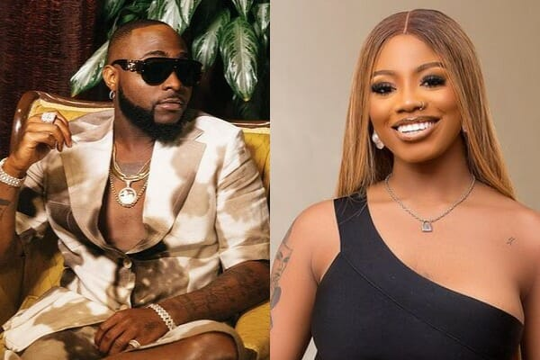 Reactions as Davido links up with BBNajia star Angel.