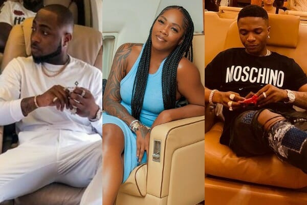 Top 10 Nigerian artistes that use private jets on showbiz