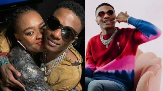 Wizkid Reunites With His Sister After Two Years Of Being Apart
